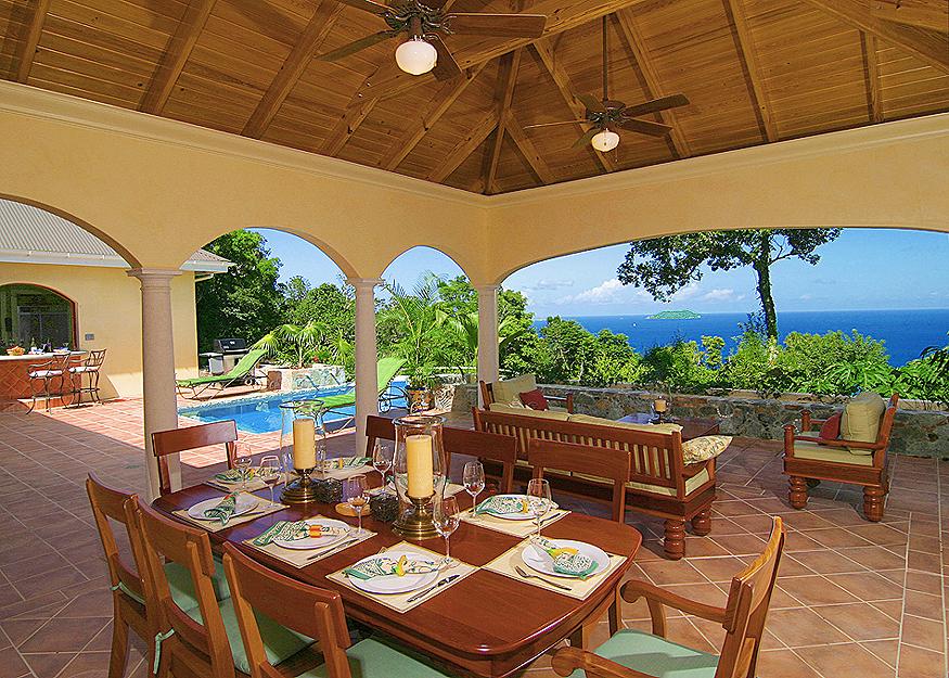 An Ultra Luxury St John Vacation Al On S Exclusive Cinnamon Bay